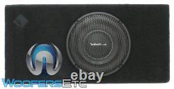 Rockford Fosgate-1x10 Puissance T1s 1 Ohms 10 1000w Caisson De Basses-parleurs Bass & Box New