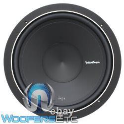 Rockford Fosgate P1s2-15 Sub 15 Car Audio 2 Ohm Subwoofer Basse Nouveau