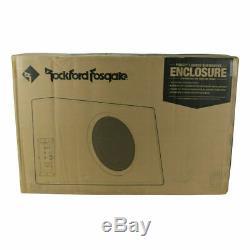 Rockford Fosgate P300-12 300w Rms 12 Caisson De Basses-parleurs Bass Box Amplificateur Nouveau