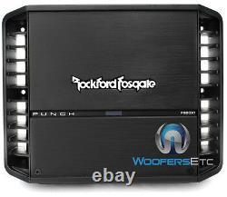 Rockford Fosgate P300x1 Amp 1canal 600w Max Subwoofers Haut-parleurs Amplificateur Nouveau