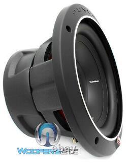 Rockford Fosgate Punch P1s2-10 Sub 10 Car Audio 2ohm 500w Subwoofer Speaker Nouveau