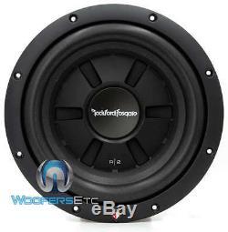 Rockford Fosgate R2sd4-10 10 Sub Double 4 Ohms Shallow Slim Subwoofer Nouveau