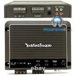 Rockford Fosgate R750x1d Amp 1ch 750w Rms Subwoofers Haut-parleurs Amplificateur Basse