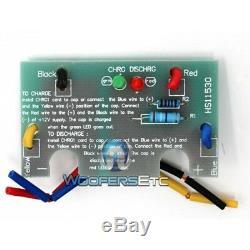 Rockford Fosgate Rfc10hb Cap 10 Pour Farad Condensateur Caisson De Basses Amplifié