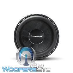 Rockford Fosgate T2s2-13 Puissance 13 4000w Simple 2 Ohms Caisson De Basses-parleurs Bass Nouveau