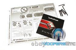 Rockford P300x2 2channel 600w Max Punch Subwoofers Haut-parleurs Bass Power Amplificateur