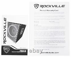 Rockville Pbg18 18 2000 Watt Mdf Cabinet Subwoofer Subpour Church Sound Systems