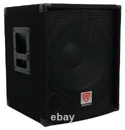 Rockville Sbg1154 15 800 Watt Subwoofer Sub Pour Church Sound Systems