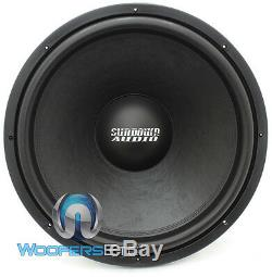 Sa-18 Rev. 3 D4 Sundown Audio 18 Sous 750w DVC 4 Ohms Haut-parleur Loud Caisson De Graves Nouveau