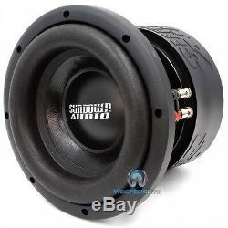 Sa-8 V1.5 D4 Sundown Audio Sub 8 DVC 4 Ohms 500 Watts Rms Caisson De Basse Haut-parleur Des Graves