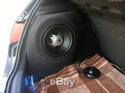 Seat Leon 0512 Furtif Sub Président Enclosure Sound Box Audio Bass Upgrade Voiture