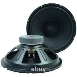Seismic Audio Deux 15 Replacement Pa Speakers Drivers -loudspeakers