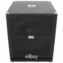 Sismique Audio 18 Amplifies Active Speaker Subwoofer