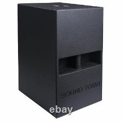 Sound Town 12 800w Powered Active Pa Dj Polded Horn Subwoofer (carme-112spw)