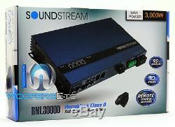 Soundstream Rn1.3000d Voiture Monoblock De Caissons De Basse Orateurs Ampli Basse Nouveaux