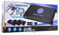 Soundstream T1.6000dl Caissons De Basse Bass Amp Orateurs Tarantula Amplificateur Nouveaux