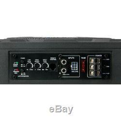 Soundstream Usb-10p 10 1000w Sous Le Siège Caisson De Graves Graves Amplificateur Haut-parleur