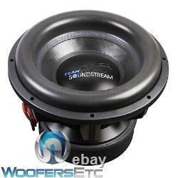 Soundstream X5.15 Team 15 Tarantula 7500w Dual 1-ohm Subwoofer Bass Speaker Nouveau