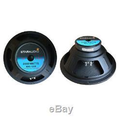 Staraudio 12 Pouces 2000w Raw Remplacer 8ohm Caisson De Graves Pa Audio Haut-parleur Basse Woofer