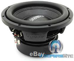 Sundown Audio E-10 V. 3 D4 10 500w Rms Double 4 Ohms Caisson De Graves Enceintes Bass Nouveau