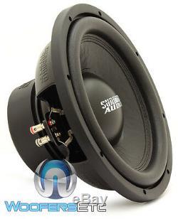 Sundown Audio E-12 V. 3 D4 12 500w Rms Double 4 Ohms Caisson De Graves Enceintes Bass Nouveau