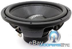 Sundown Audio E-15 V. 3 D2 15 500w Rms Double 2 Ohms Caisson De Graves Enceintes Bass Nouveau
