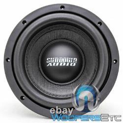 Sundown Audio E-8 6 V. D2 8 Sub 300w Rms Dual 2 Ohms Subwoofer Enceintes Bass New