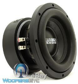 Sundown Audio E-8 V. 5 D4 8 300w Rms Double 4 Ohms Caisson De Graves Enceintes Bass Nouveau