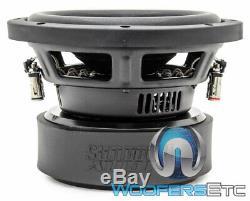 Sundown Audio E-8 V. 6 D4 8 Sous 300w Rms Double 4 Ohms Caisson De Basses-parleurs Bass Nouveau