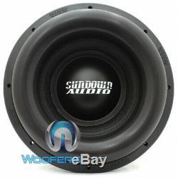 Sundown Audio Ns-12 V. 3 D1 12 2500 Watt Rms Morelle Caisson De Basse Haut-parleur Des Graves
