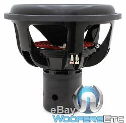 Sundown Audio Ns-18 V. 4 18 D2 De Morelle Rms Dual 2 Ohms Subwoofer New