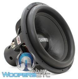 Sundown Audio Ns-18 V. 4 D1 18 Nightshade 2500w Rms Dual 1-ohm Subwoofer Nouveau