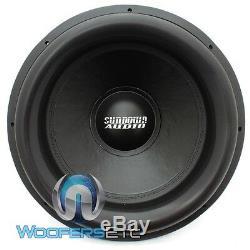 Sundown Audio Ns-v3 18 18 D2 Sub 2500w Rms Dual 2 Ohms Morelle Basse Subwoofer