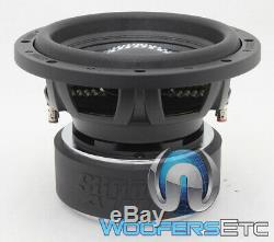 Sundown Audio Sa-12 V. 2 D4 12 Dual 4 Ohm 1000w Rms Caisson De Basses-parleurs Bass Nouveau