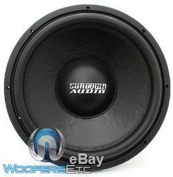 Sundown Audio Sa-15 V. 3 D4 15 750w Rms DVC 4ohm Fort Caisson De Basses-parleurs Bass Nouveau