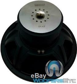 Sundown Audio Sa-18 V. 2 D2 15 1000w Rms Double 2 Ohms Subwoofer Enceintes Bass Nouveau