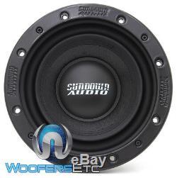 Sundown Audio Sd-3 8 D4 Voiture 8 300w Rms Double 4 Ohms Caisson De Basses-parleurs Bass Nouveau