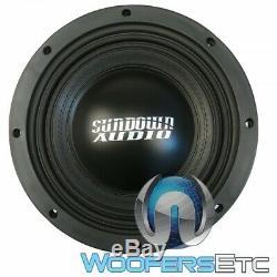Sundown Audio Sd-4 10 D4 Sub 10 600w Rms Double 4 Ohms Caisson De Basses-parleurs Bass Nouveau