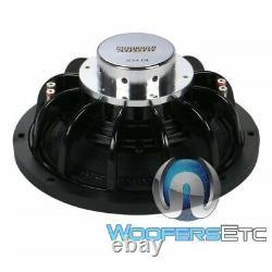 Sundown Audio Sd-4 12 D4 12 600w Rms Dual 4-ohm Shallow Subwoofer Speaker Nouveau