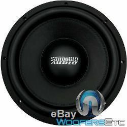 Sundown Audio Sld 10 D4 10 600w Rms Double 4 Ohms Shallow Subwoofer Basse