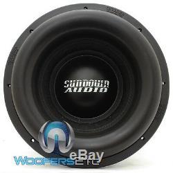 Sundown Audio Team 12 De 12 D1.4 Dcr 5000w Rms Double 1.4 Ohms Subwoofer Basse