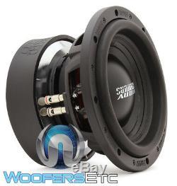 Sundown Audio U-10 D4 10 Sous 1500w Rms Double 4 Ohms Caisson De Basses-parleurs Bass Nouveau