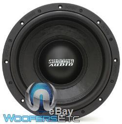 Sundown Audio U-12 D4 12 Sous 1500w Rms Double 4 Ohms Caisson De Basses-parleurs Bass Nouveau