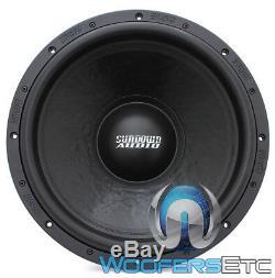 Sundown Audio U-15 D4 15 Sous 1500w Rms Double 4 Ohms Caisson De Basses-parleurs Bass Nouveau