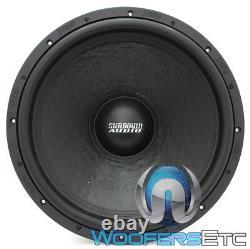Sundown Audio U-18 D2 18 Sub 1500w Rms Dual 2-ohm Subwoofer Bass Speaker Nouveau