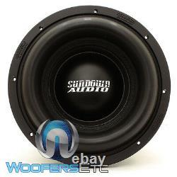 Sundown Audio X-10 V3 D2 Pro 10 Dual 2-ohm 2000w Rms Subwoofer Bass Speaker Nouveau
