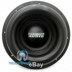 Sundown Audio X-15 D4 15 Dual 4 Ohm 1250w Rms Bass Subwoofer (old V1 Model) Nouveau