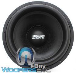 Sundown Audio X-18 V. 2 D2 18 1500w Rms Dual 2 Ohms Subwoofer Nouveau Panier