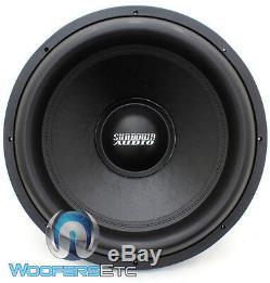 Sundown Audio X-18 V. 2 D4 Pro 18 1500w Double 4 Ohms Rms Basse Subwoofer
