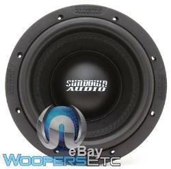 Sundown Audio X-8 V. 3 D4 8 800w Rms Double 4 Ohms Caisson De Graves Enceintes Bass Nouveau